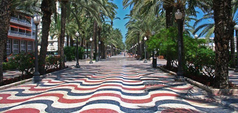 Alicante explanada