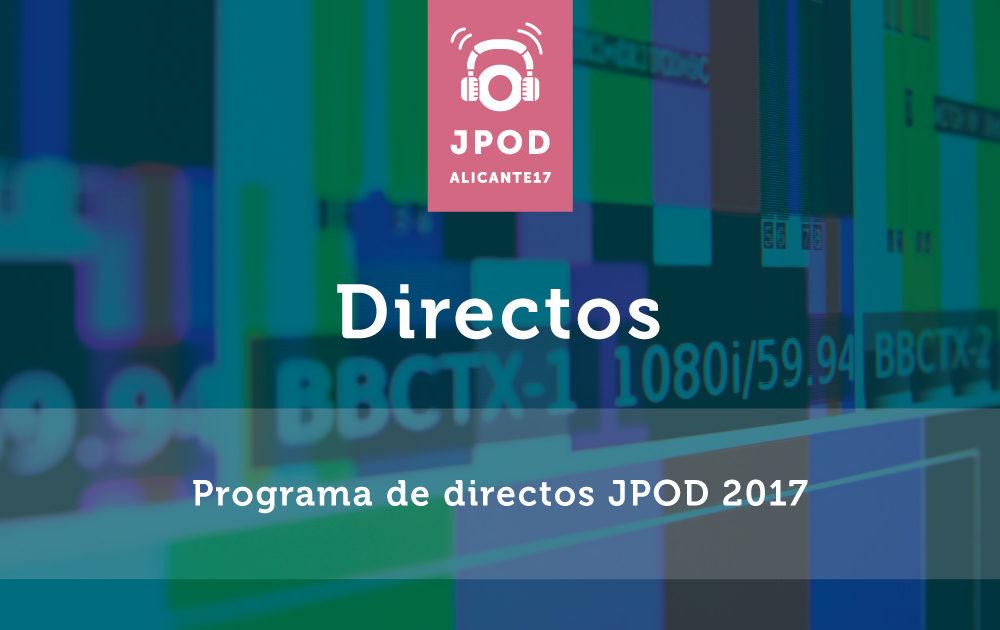 Programa directo jpod