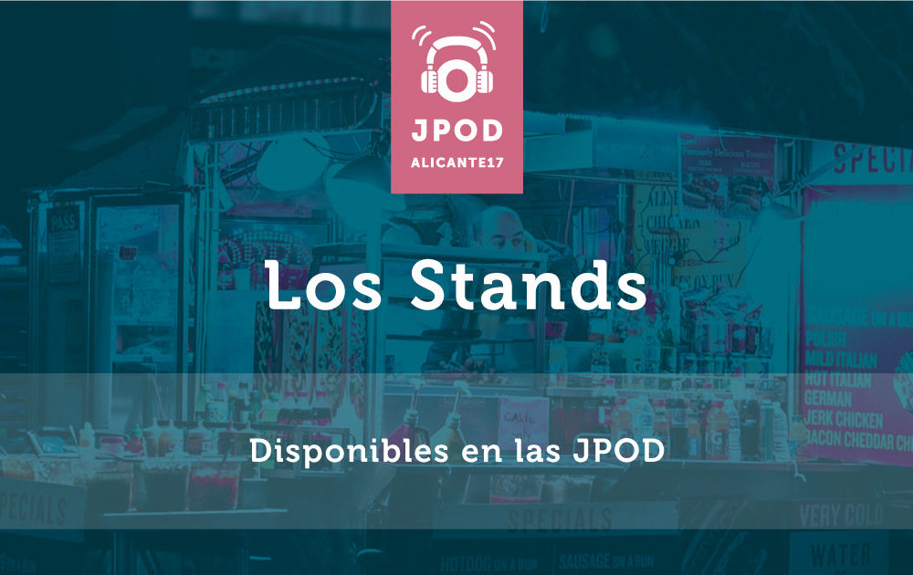 Los stands que van a estar disponibles en las JPOD