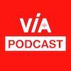 Via podcast logo itunes